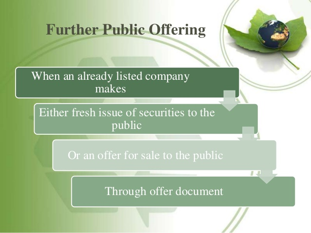 What is FPO? Further Public Offerings in Nepal