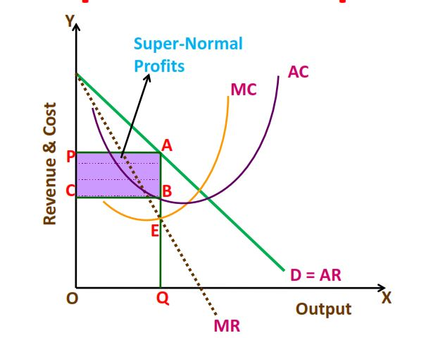 price and output determination under monopoly market